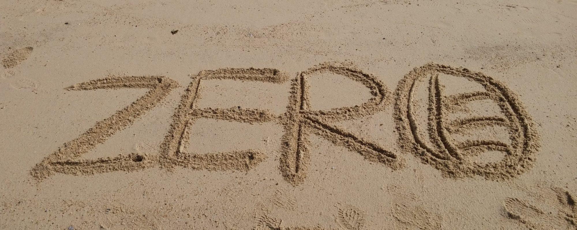 Zero sand 2 august